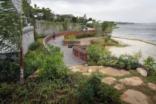 Rowers bay park along coast to coast trail