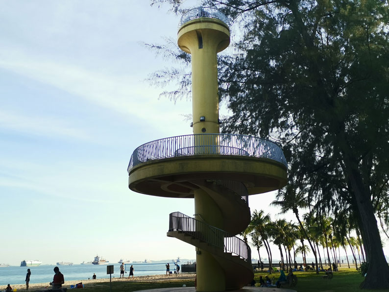 Photo of Amber Beacon Tower at East Coast Park