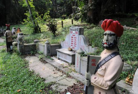 Chew Geok Leong tomb Bukit Brown Cemetery