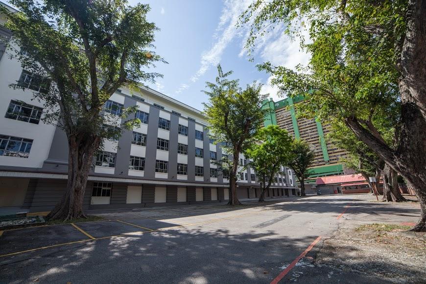 Former CID headquarters Singapore Eu Tong Sen Street