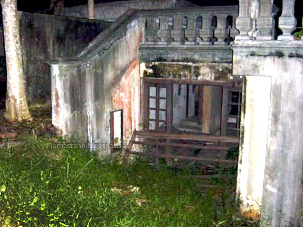 dilapidated structure in hillview mansion