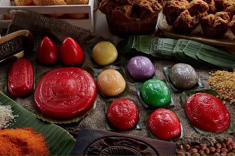 Assortment of ang ku keh by Ji xiang confectionery