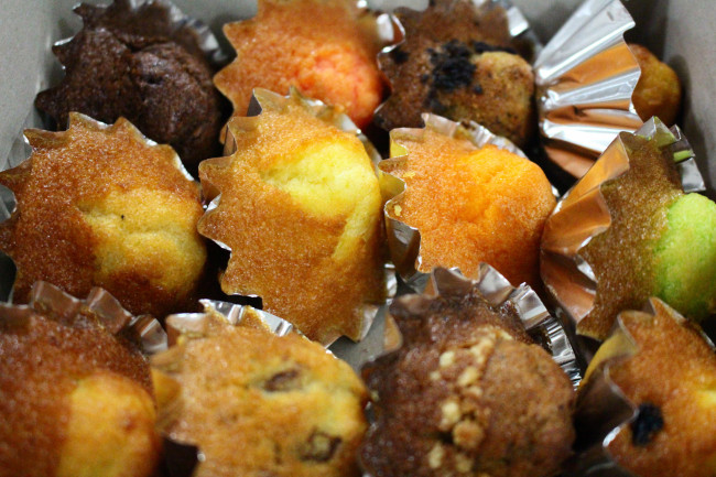 Iconic muffins at Ng Kim Lee Confectionery