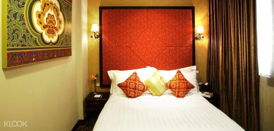 Interior of Nostalgia Hotel Singapore