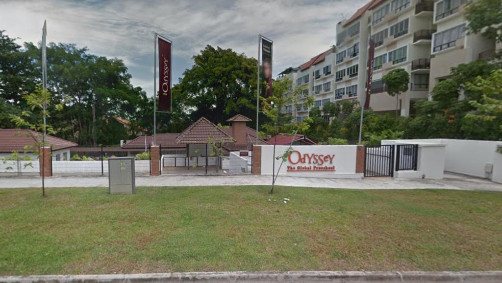Outside View of Odyssey Loyang preschool