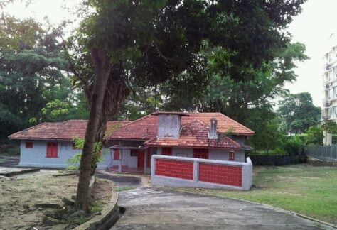 Abandoned Pasir Ris Haunted Red house