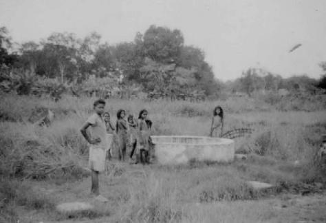 Sembawang hot spring 1947
