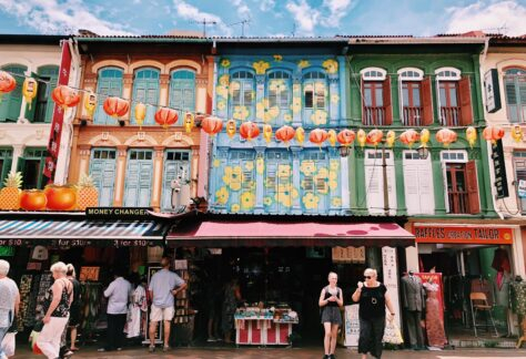 shopfront at chinatown in Singapore