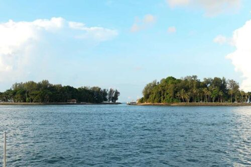 view of Sisters Island Marine Park