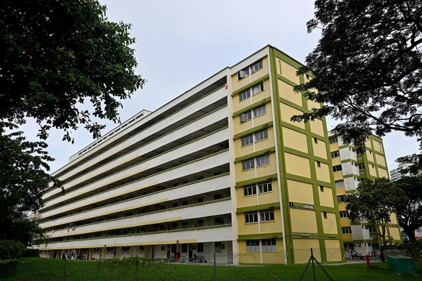 HDB flat at Spooner Road estate