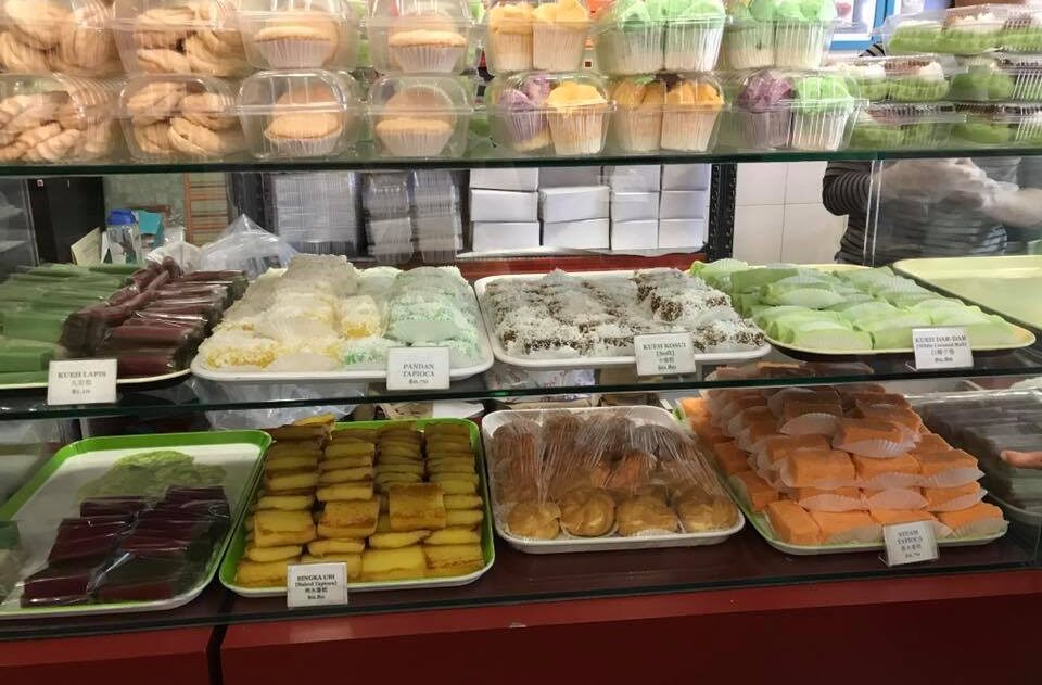 Assortment of pastries at Tiong Bahru Galicier pastry