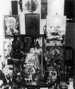 altar at crime scene in 1981 Toa Payoh ritual murders