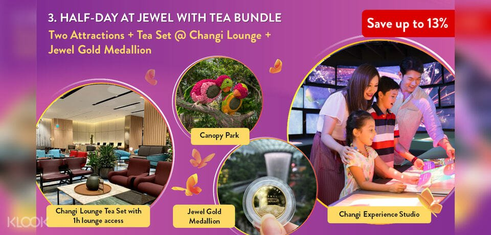 banner of half day jewel bundle package