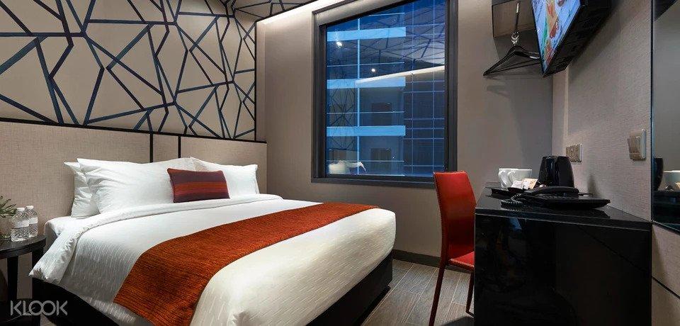 Interior of Hotel boss Singapore