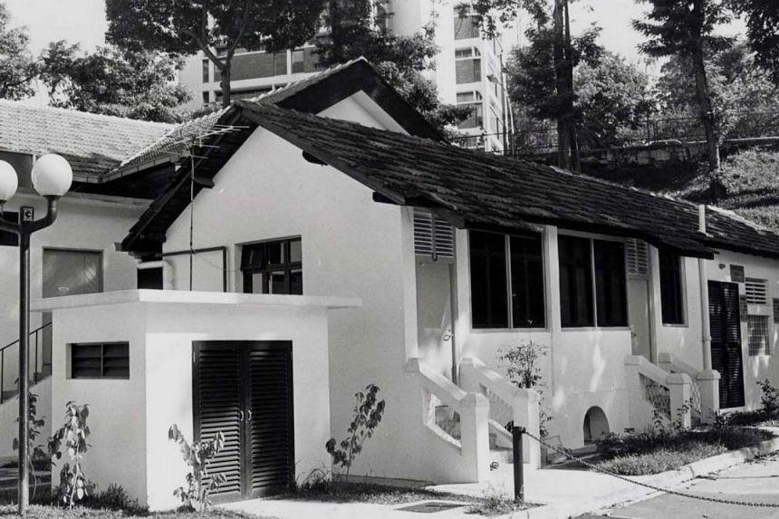 living quarters at Orchard Road presbyterian church
