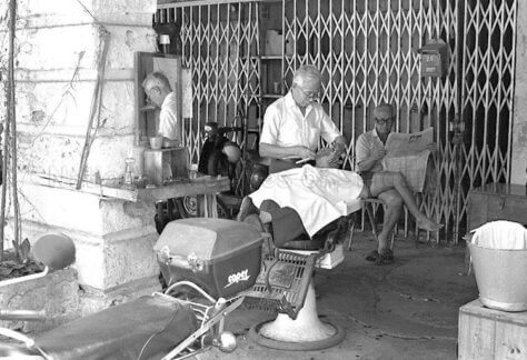 singapore five foot alley barber