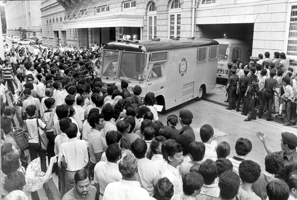 Court hearing in 1981 Toa Payoh Ritual Murder